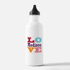 I Love Madison Water Bottle
