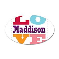 I Love Maddison Wall Decal