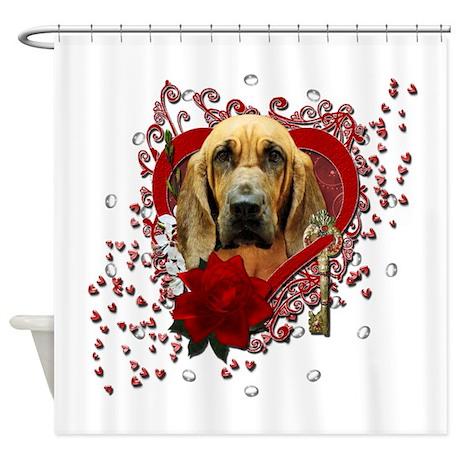 Valentines - Key to My Heart - Bloodhound Shower C