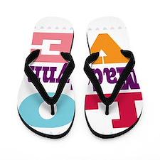 I Love Madalynn Flip Flops