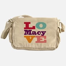 I Love Macy Messenger Bag