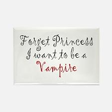 Princess Vampire Rectangle Magnet
