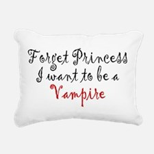 Princess Vampire Rectangular Canvas Pillow