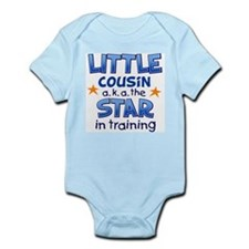 Little Cousin - Star (Blue) Body Suit