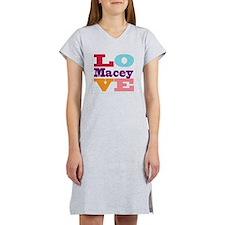 I Love Macey Women's Nightshirt