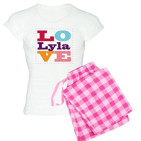 I Love Lyla Women's Light Pajamas