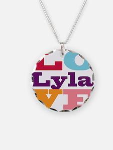I Love Lyla Necklace