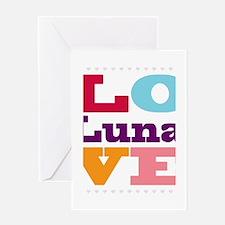 I Love Luna Greeting Card