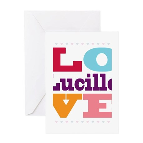 I Love Lucille Greeting Card