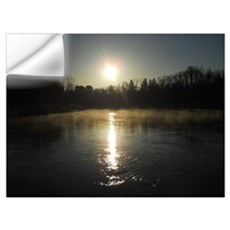 Mississippi River Sunrise Wall Art Wall Decal