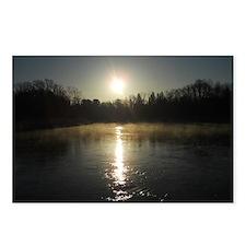 Mississippi River Sunrise Postcards (Package of 8)