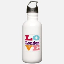I Love London Water Bottle