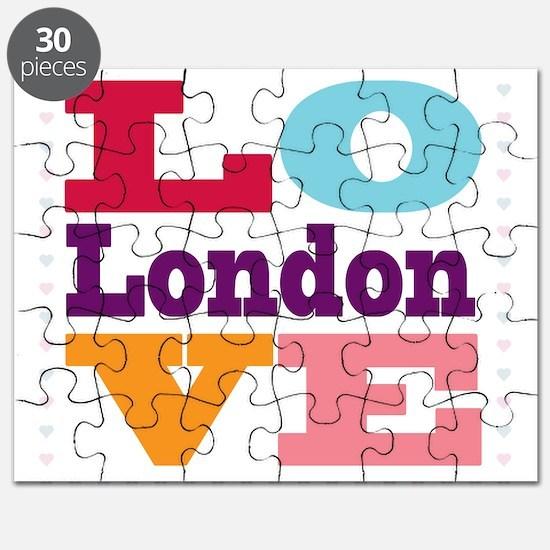 I Love London Puzzle