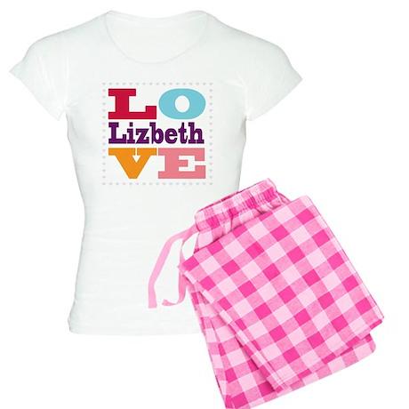 I Love Lizbeth Women's Light Pajamas