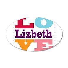 I Love Lizbeth Wall Decal