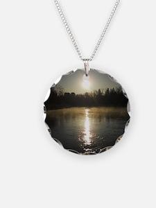 Mississippi River Sunrise Necklace