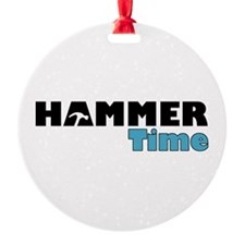 Hammer Time Ornament