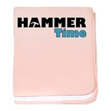Hammer Time baby blanket