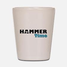 Hammer Time Shot Glass