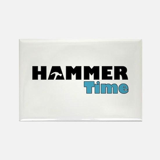Hammer Time Rectangle Magnet