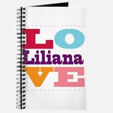 I Love Liliana Journal
