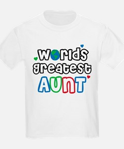 World's Greatest Aunt! T-Shirt