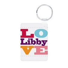 I Love Libby Keychains