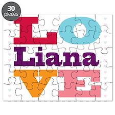 I Love Liana Puzzle