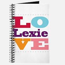 I Love Lexie Journal
