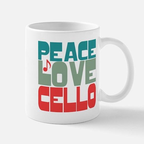 Peace Love Cello Mug