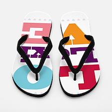 I Love Lexi Flip Flops