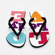 I Love Lesly Flip Flops
