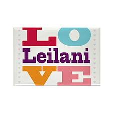 I Love Leilani Rectangle Magnet