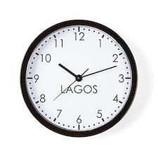 LAGOS Modern Newsroom Wall Clock
