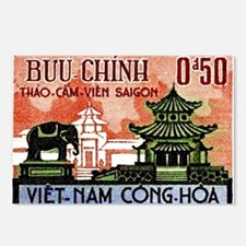 1964 Vietnam Saigon Zoo and Botanical Garden Postc