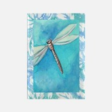 Watercolor Dragonfly Kitchen Magnet