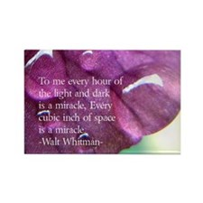 Walt Whitman quote refridgerator maget