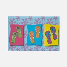 Flip Flops Refridgerator Magnet