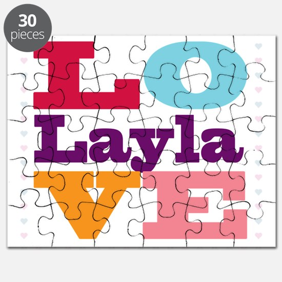 I Love Layla Puzzle