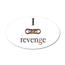 I Love (Double Infinity) Revenge Wall Decal