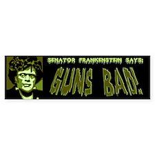 Senator Frankenstein Bumper Sticker
