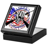 2nd amendment Square Keepsake Boxes