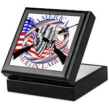 Molon Labe America 2nd Amendment Keepsake Box