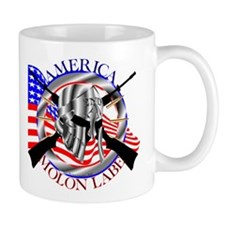 Molon Labe America 2nd Amendment Mug