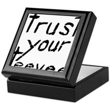 Trust Your Teevee Keepsake Box