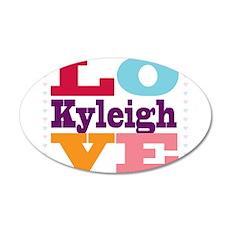 I Love Kyleigh Wall Decal