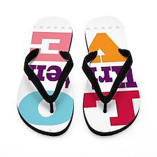 I Love Kristen Flip Flops