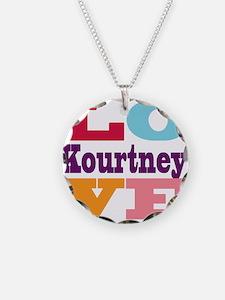 I Love Kourtney Necklace
