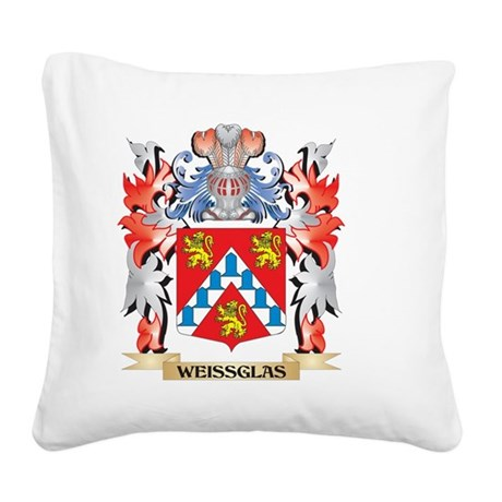 Weissglas Coat of Arms - Fami Square Canvas Pillow