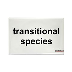 transitional species Rectangle Magnet (100 pack)